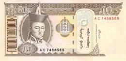 50 Tugrik Mongolei 2000 - Mongolie