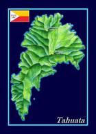 Marquesas Islands Tahuata New Postcard Îles Marquises - Polynésie Française