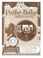 "PUB    "" PATHE-BABY ""    1923 ( 4 ) - Photographie"