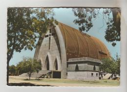 CPSM FORT LAMY (Tchad) - La Cathédrale - Chad