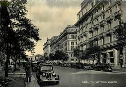 Italie - ROMA  Rue Vittorio Veneto   Réf 6475 - Autres