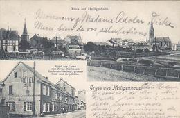 Gruss Aus Heiligenhaus - Hotel Zur Krone - 1909      (A-73-170712) - Otros