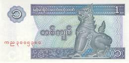 1 Kyat Burma UNC - Myanmar