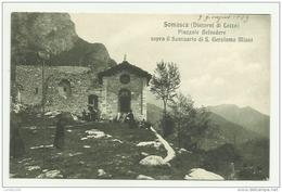 SOMASCA - ( LECCO ) PIAZZALE BELVEDERE SOPRA IL SANTUARIO DI S.GIROLAMO MIANI - VIAGGIATA FP - Lecco