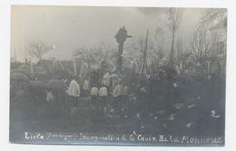 TOP CARTE PHOTO LISLE 24 DORDOGNE PERIGORD INAUGURATION DE LA CROIX DE LA MONNERIE - Frankrijk