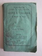 Almanach De Seine Et Marne Diocèse De Meaux 1875 Dans L'état Jouarre La Férté Sous Jouarre - Tourism