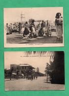 Afrique Djibouti Lot De 2 Cartes Postales Voyagées En 1927 - Djibouti