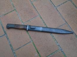 Baionnette 98k 43 Cvl (wkc) Au Meme Numero - Knives/Swords