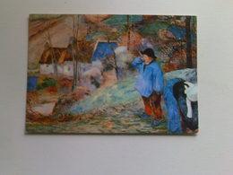 Art  Postcard -  P Gauguin  -  Breton Landscape - Paintings