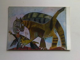 Art  Postcard -  Pablo Picasso  -  Il  Gatto - Paintings