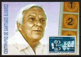 Cub2019 100th Anniversary Of Santiago Alvarez's Birthdate. Movie Productor. ICAIC News S/S MNH - Cuba