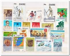 Zaïre 20 Stamps, Gestempeld Used - Zaïre