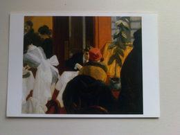 Art  Postcard -  Edward Hopper -  New York Restaurant - Paintings