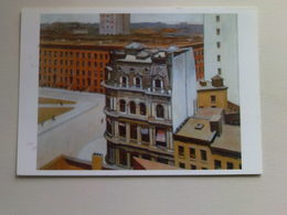 Art  Postcard -  Edward Hopper -  The City - Paintings