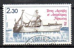 """TAAF. N°100 Oblitéré De 1982. Chalutier """"Austral"""". - Tierras Australes Y Antárticas Francesas (TAAF)"""