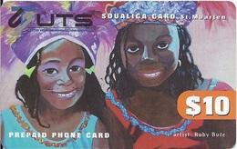 ST. MAARTEN - NETHERLANDS ANTILLES - ARTIST RUBY BUTE - Antilles (Netherlands)