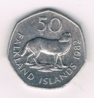 50 PENCE  1982 FALKLAND ISLANDS /4224/ - Falkland