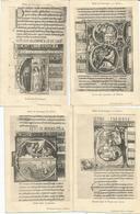 LOT 8 CARTES LA BIBLE DE SOUVIGNY - Postcards
