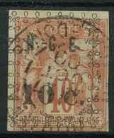 Nouvelle Caledonie (1891) N 11 (o) - Oblitérés