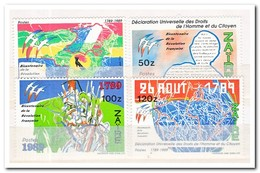 Zaïre 1990, Postfris MNH, 200th Anniversary Of The French Revolution - Zaïre