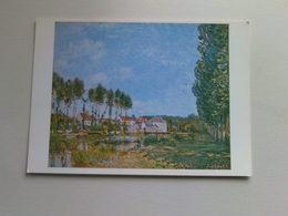 Art  Postcard -  Alfred Sisley  -  Moret, Banks Of The Loing - Paintings