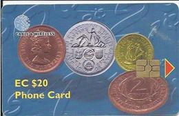 ST. KITTS & NEVIS - OLD COINS - Saint Kitts & Nevis