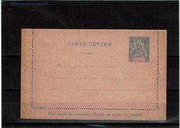 DIV1 -  NOUVELLE CALEDONIE CARTE LETTRE ACEP N°10 NEUVE - Briefe U. Dokumente