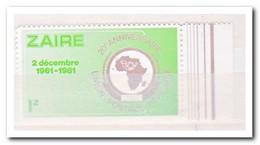 Zaïre 1982, Postfris MNH, 20 Years African Postal Union - Zaïre