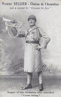 """Pierre Sellier - Clairon De L'Armistice - """"Cease Firing"""" - Orig. Signature (A-73-170712) - Politische Und Militärische Männer"""