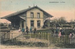 (CPA 72) COUDRECIEUX  /  La Gare - - Altri Comuni