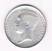 1 FRANC 1913 FR BELGIE /4229/ - 1909-1934: Albert I
