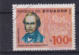 Ecuador 1986, Charles Darwin, Galapagos, Minr 2023, Vfu. Cv 3,60 Euro - Ecuador