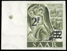 * SAAR. 2Fr. Sur 12p. Brun-lilas. N.D. BdeF. TB.(cote : 0) - Sarre