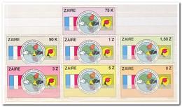 Zaïre 1982, Postfris MNH, Emblem, Flags - 1980-89: Ongebruikt