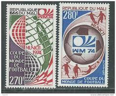 Mali  N° 216 / 17  XX Coupe Du Monde De Football à Munich, Les 2 Valeurs Sans Charnière TB - Mali (1959-...)