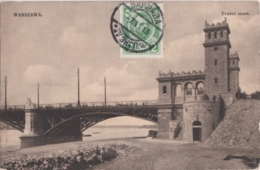 Bt - Cpa Pologne - Polska - WARSZAWA - Trzeci Most - Pologne