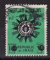 Iraq 1972, Overprint, Minr 19, Vfu. Cv 10 Euro - Iraq