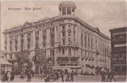Bt - Cpa Pologne - Polska - WARSZAWA - Hotel Bristol - Pologne