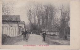 Bt - Cpa BALIGNICOURT - Rue De Vendeuil - France