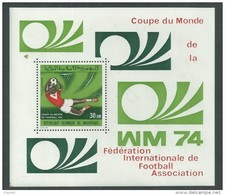 Mauritanie BF N° 12  XX  Coupe Du Monde De Football à Munich, Le Bloc Neuf Sans Charnière, TB - Mauritanie (1960-...)