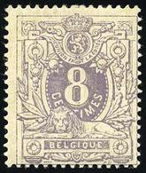 * 8c. Violet. B.(cote : 170) - Belgique