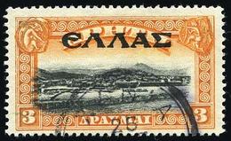 O 3d. Orange Et Noir. Obl. TB.(cote : 90) - Crete