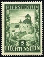 * 5F. Vert. TB.(cote : 125) - Liechtenstein