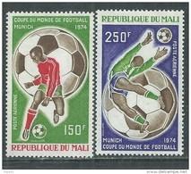 MALI  P. A.  N° 207 / 08 XX  Coupe Du Monde De Football à Munich, Les 2 Valeurs Sans Charnière, TB - Mali (1959-...)