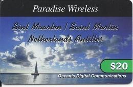 ST. MAARTEN - NETHERLANDS ANTILLES - SAILING AT THE OCEAN - Antilles (Netherlands)
