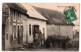 MONTEL DE GELAT RUE BASSE TRES ANIMEE - Frankreich