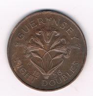 8 DOUBLES  1956 GUERNSEY/4233/ - Guernsey