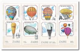 Zaïre 1984, Postfris MNH, Hot Air Balloons - 1980-89: Ongebruikt