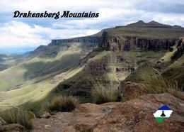 Lesotho Drakensberg UNESCO New Postcard - Lesotho