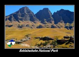 Lesotho Sehlabathebe National Park New Postcard - Lesotho